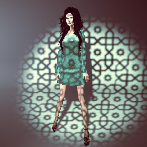 My little green dress