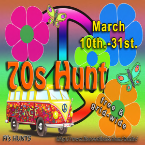 Fi's Hunts - 70s Hunt - POSTER IMAGE