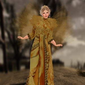 ffc paisley daisy golden royalty gown_001