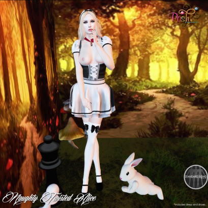 Alice in Wonderland Hunt: 100L